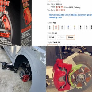 Red Calipers DIY Project